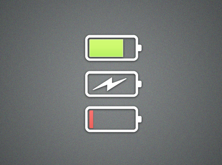 When your battery is flat