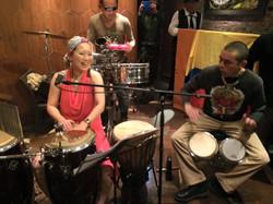 CANDELA percussionists!!!
