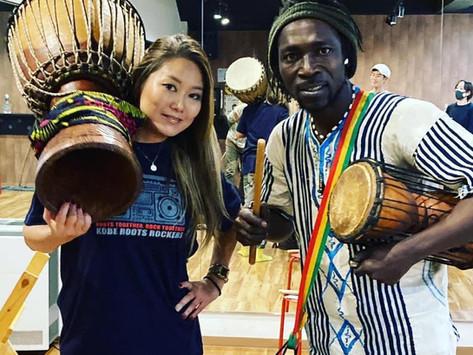 1/24 日 African drum workshop in Osaka  By Mory Bayo & RED-B