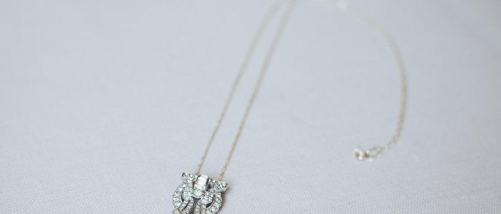 Little Shield Pendant Necklace