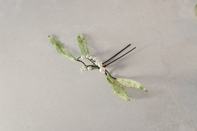 Lily of the Valley Hair Pin
