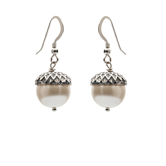 Petworth Pearl Acorn Earrings