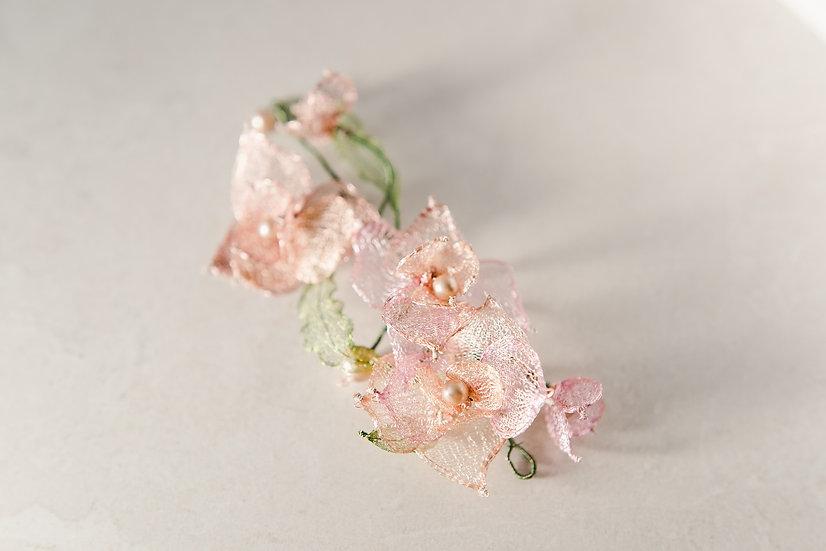 Orchid Bloom headpiece