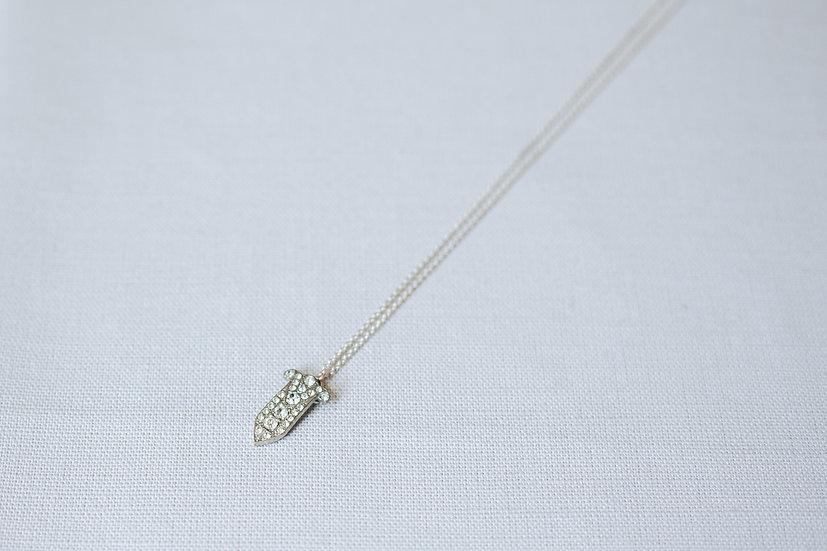 Little Dagger Pendant Necklace