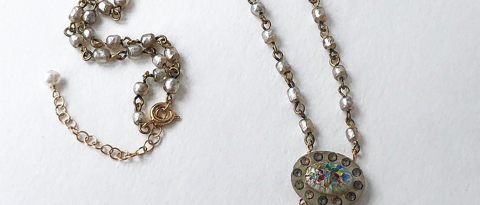 Confetti Glass Necklace