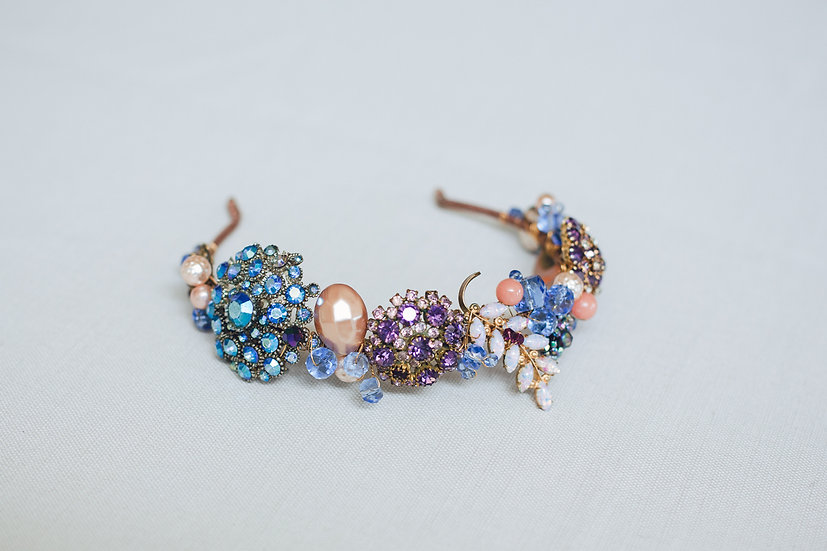 Jewelled Cluster Headband