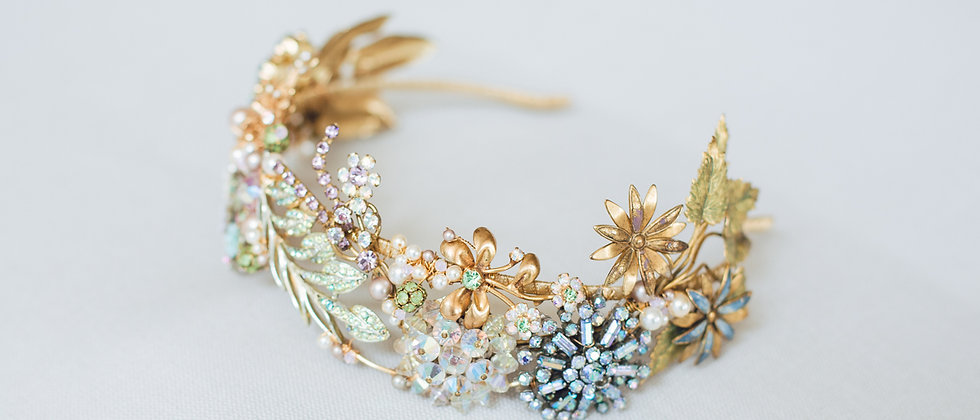 Jewelled Meadow Bandeau Headband
