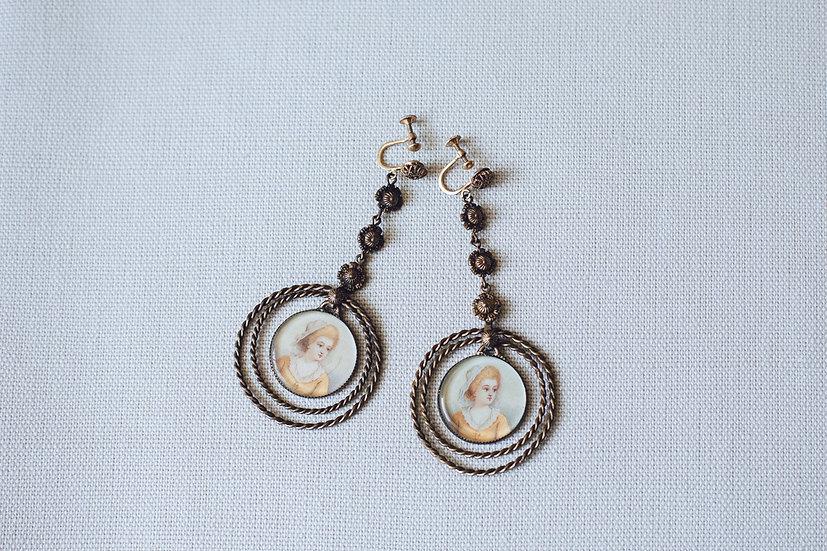 Painted Lady Earrings