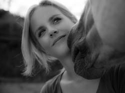 Portraitfotografie mit Pferd
