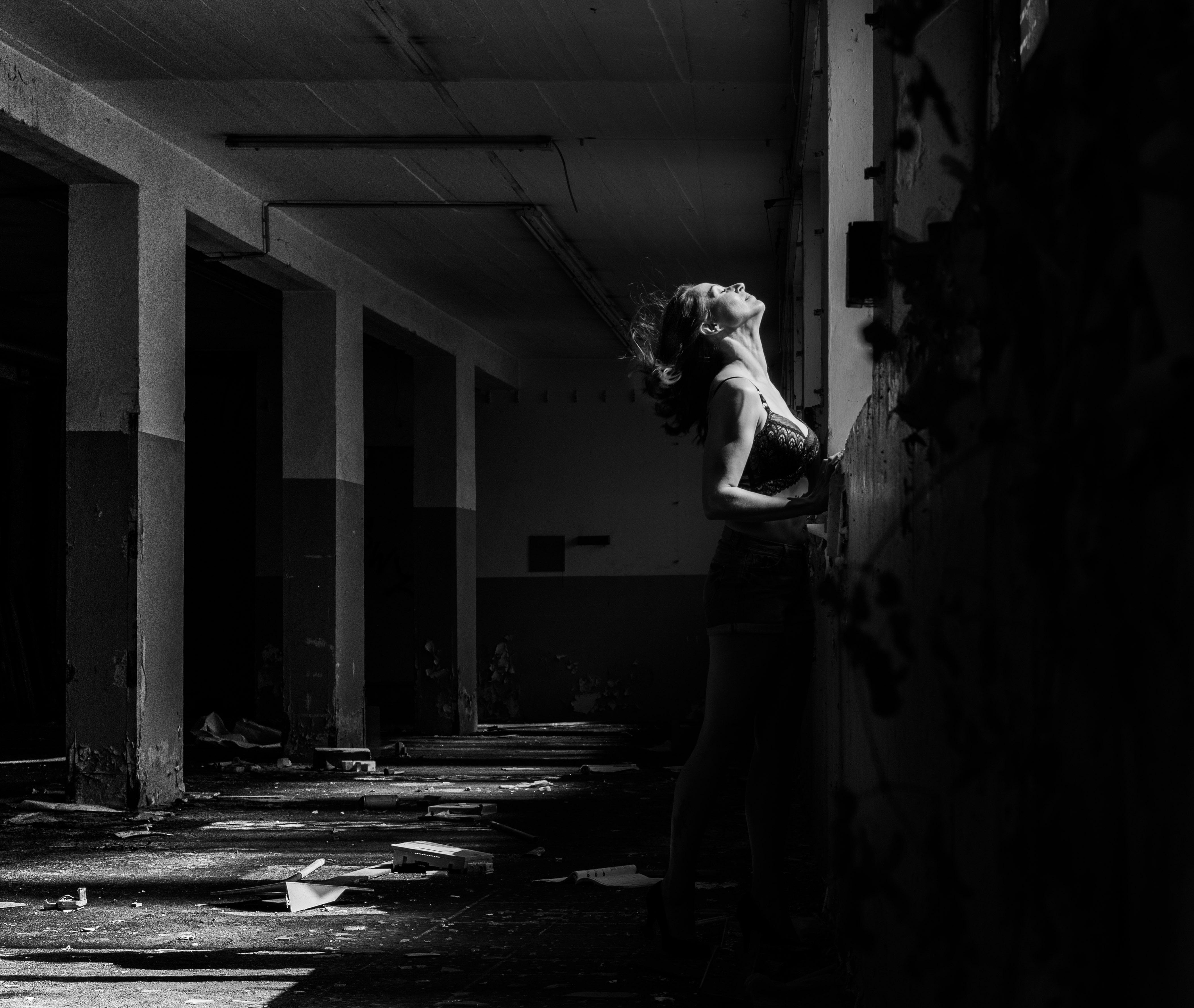 Portraitfotografie Lost Place