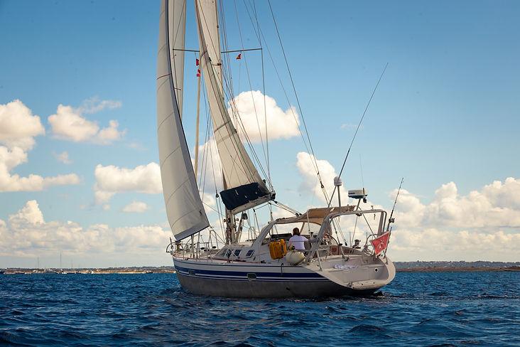 LUAR 040: le vele per correre nel vento