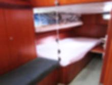 Cabina di poppa da 1-3 posti (dritta)