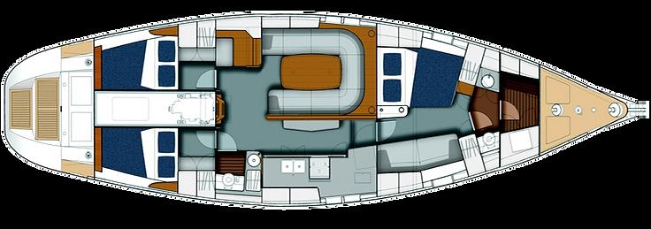 layout degli interni del LUAR 040