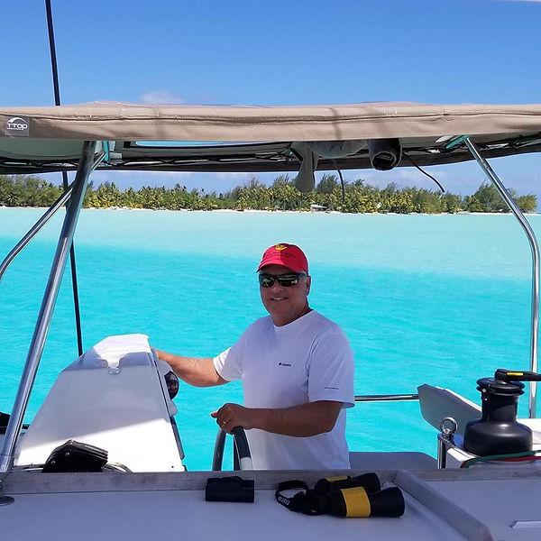Barry Cade onboard