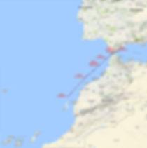 LUAR 040 TRACK da Gibilterra alle Canarie