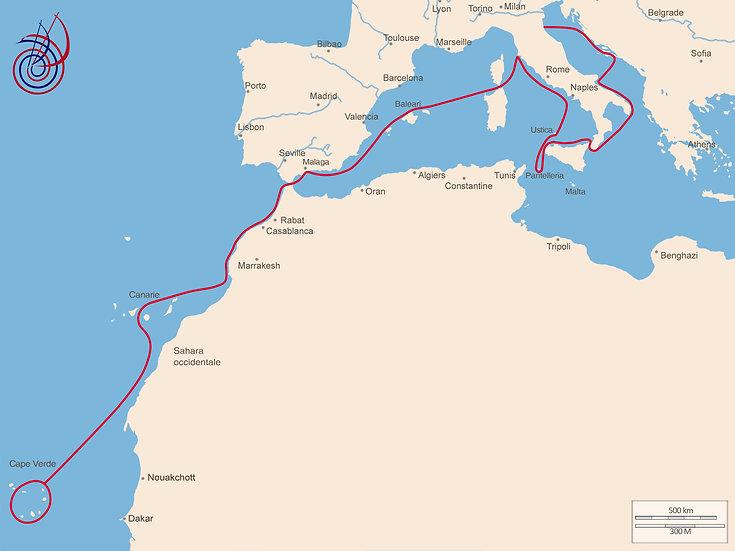 Dal Mediterraneo a Capo verde