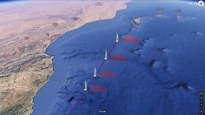 LUAR 040 TRACK Lanzarote all'orizzonte