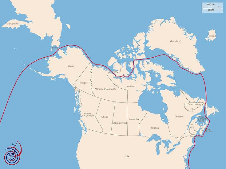 Il nostro passaggio a Nord Ovest