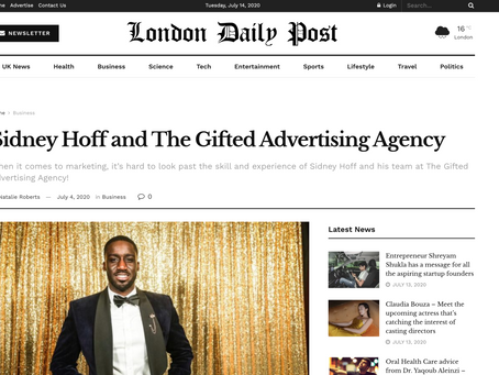 Sidney Hoff and The Gifted Advertising Agency (London Post)