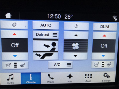 Heated/Cooled Seats Added To Climate Screen