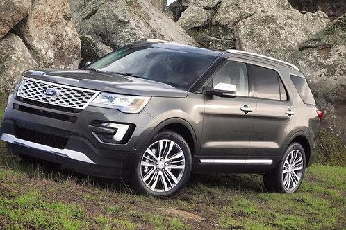 2016 - 2018 Ford Explorer Remote Start