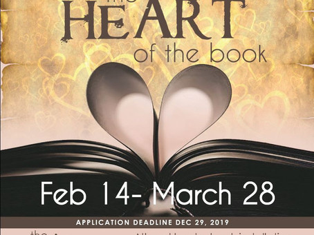 HeArt of the Book Show Wraps Up