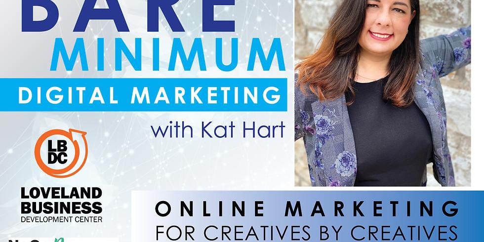June General Meeting: Bare Minimum Digital Marketing