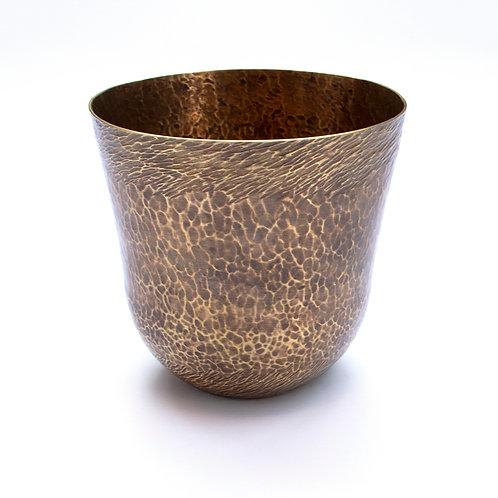 Swirled Cup - Brass