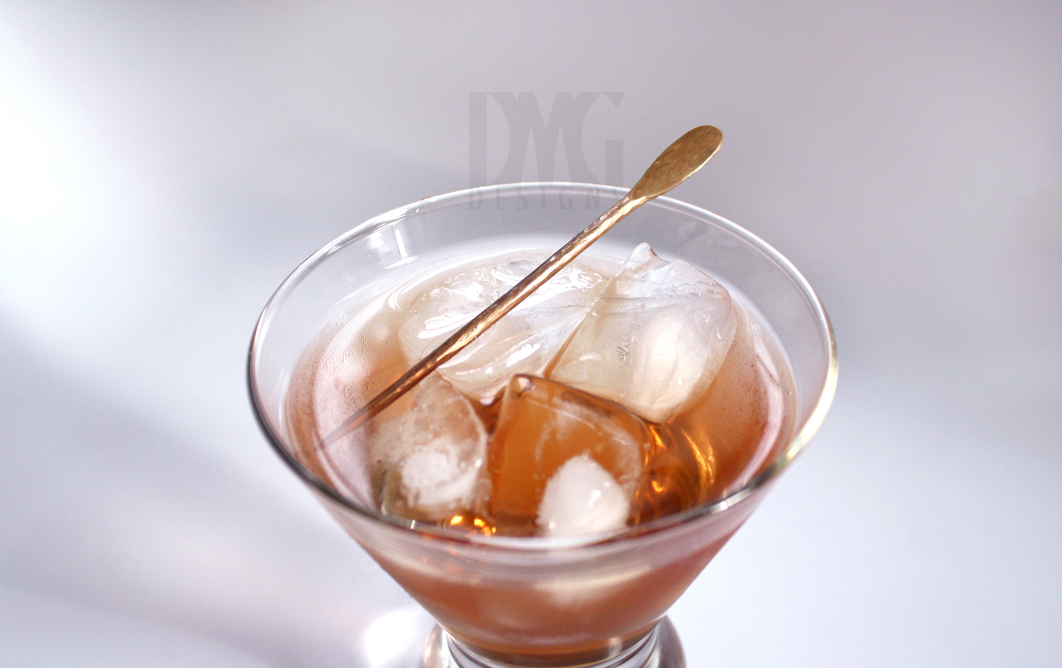 Cocktail Pick - Oval - In glass