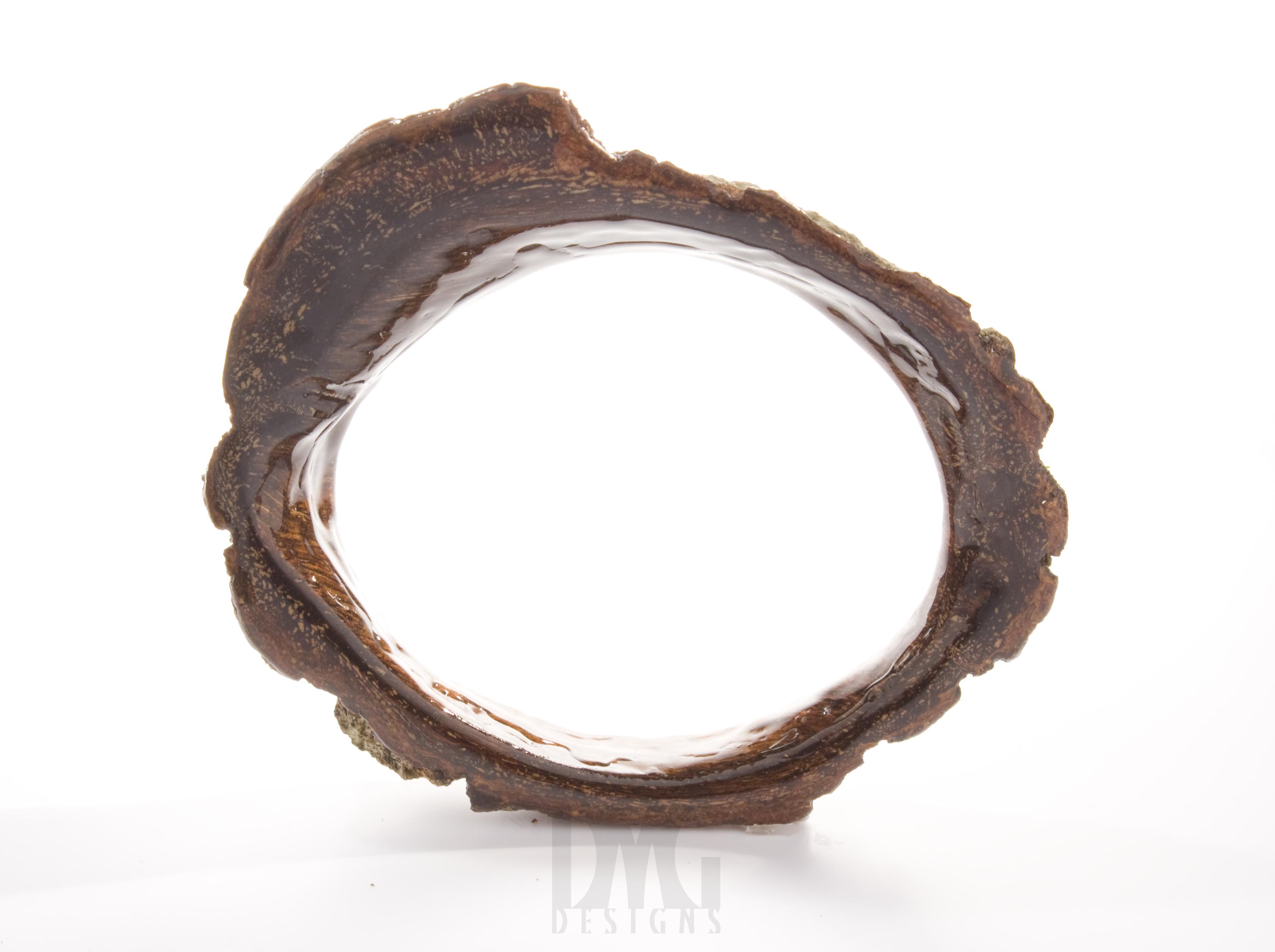 Natural Bark Cuff