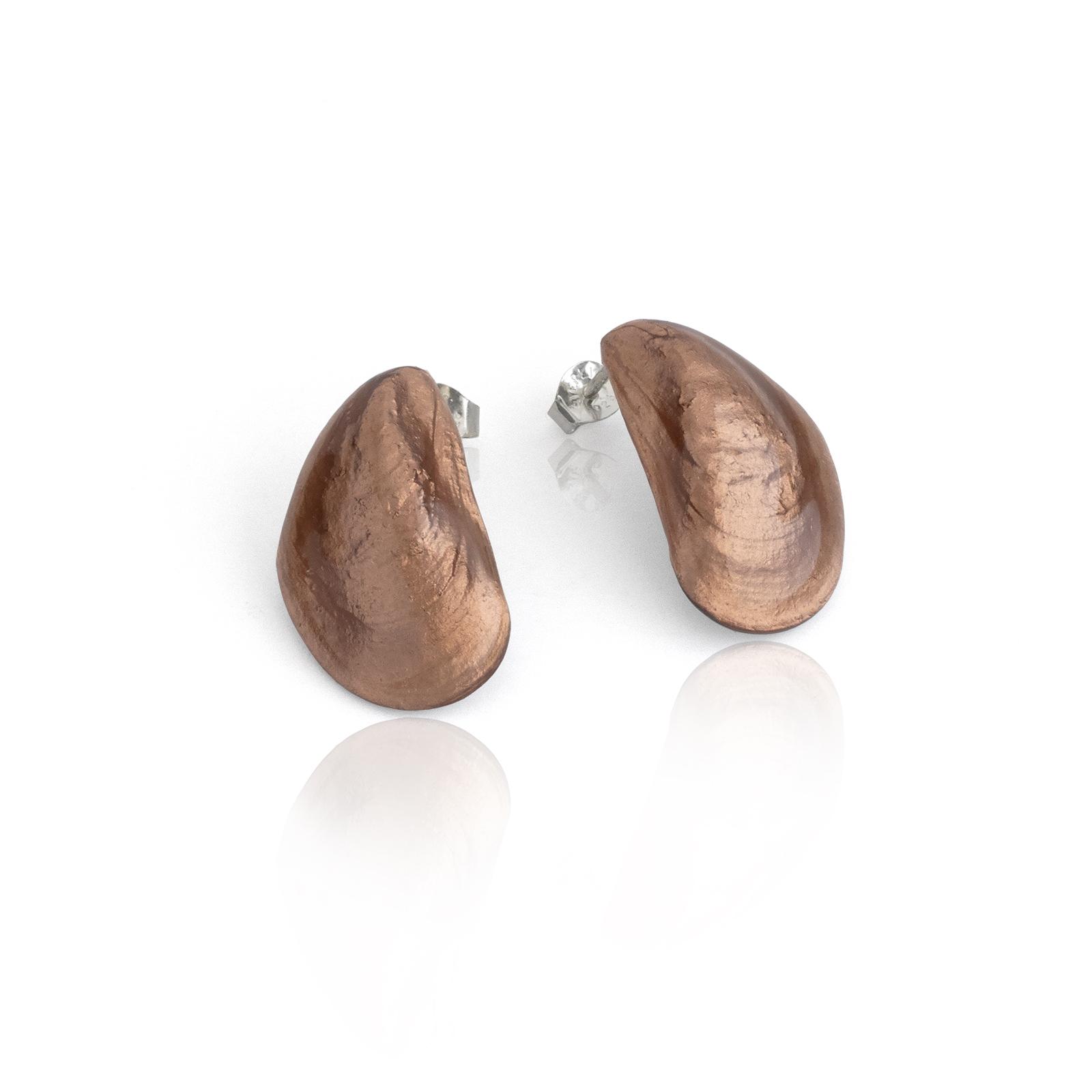 Mussel Studs - copper