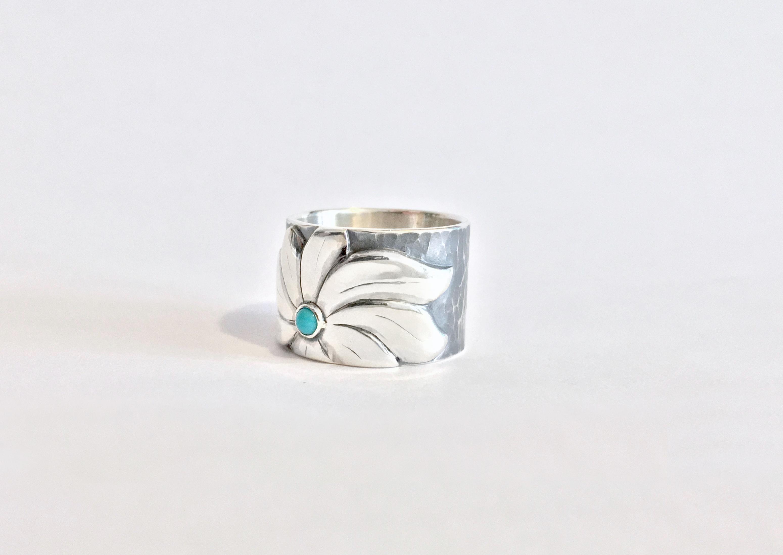 Custom Flower Ring