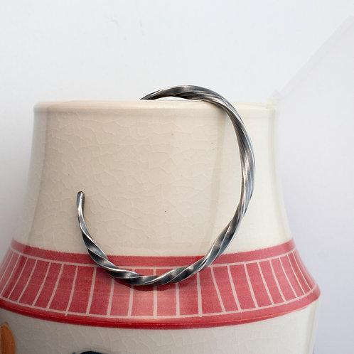 Ribbon Twist Cuff Bracelet