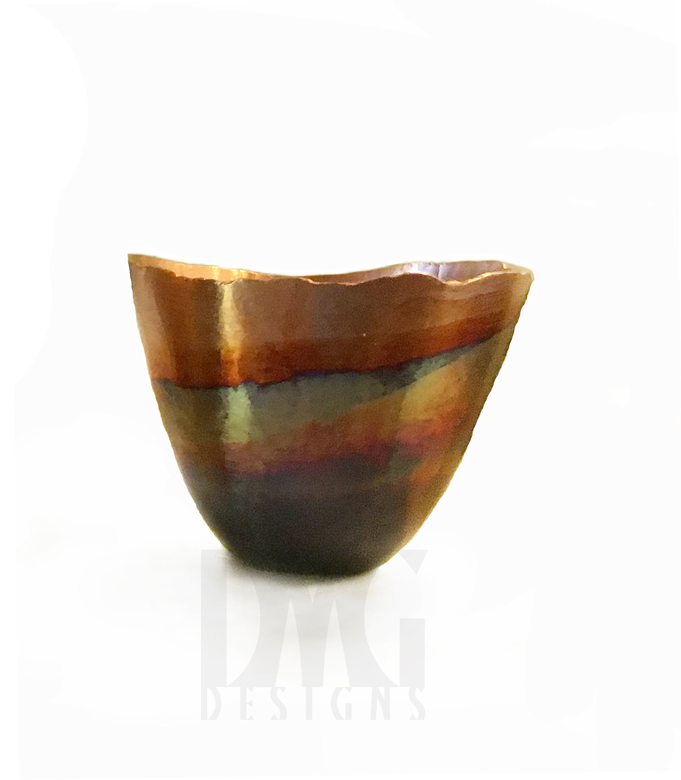Small Vessel 2 Layered Patina