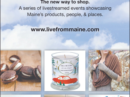 DMG Designs Featured on Live From Maine