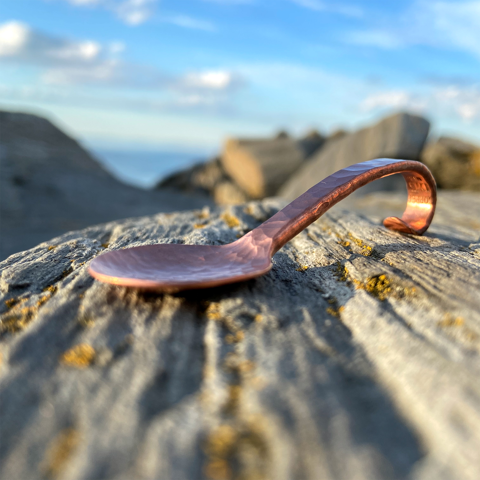 Copper Loop Spoon