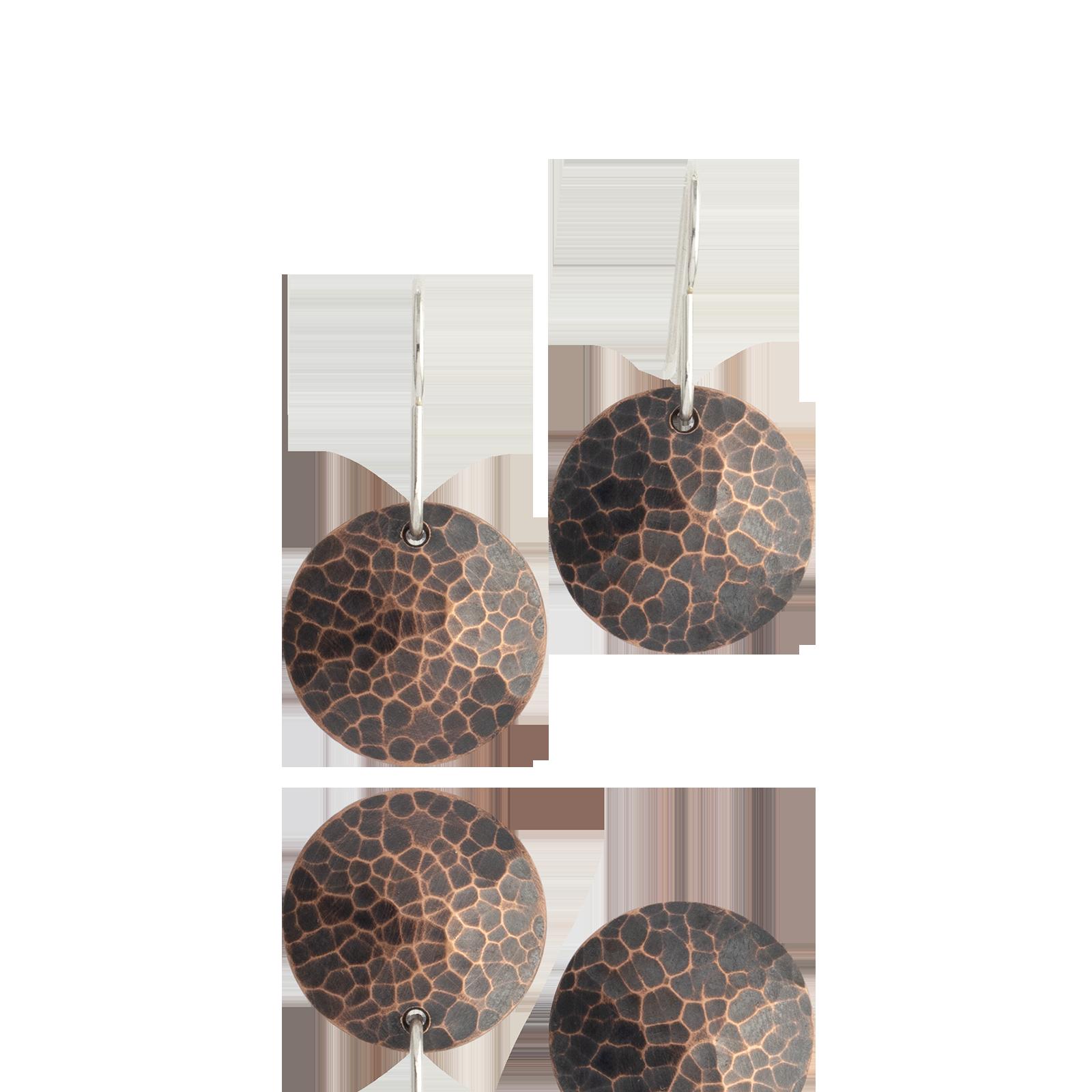 Dome Dangles - Dark Copper