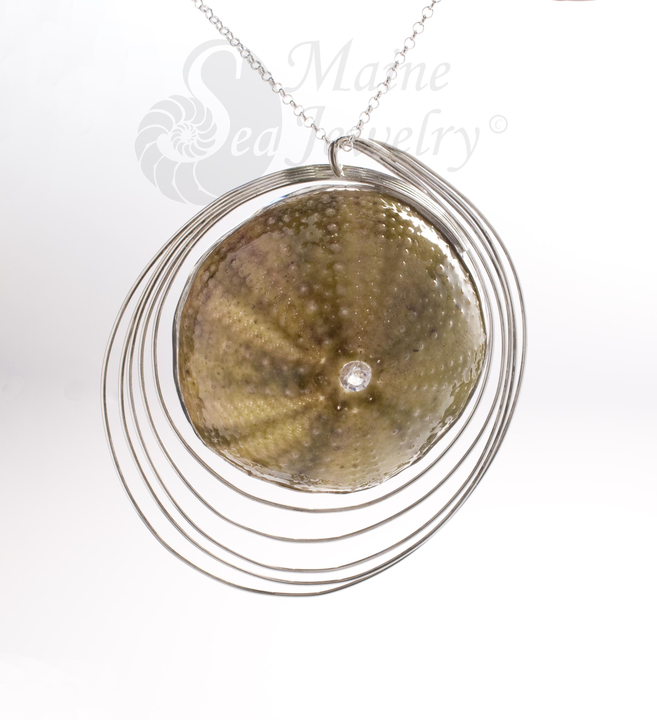 Sea Urchin Universe Pendant