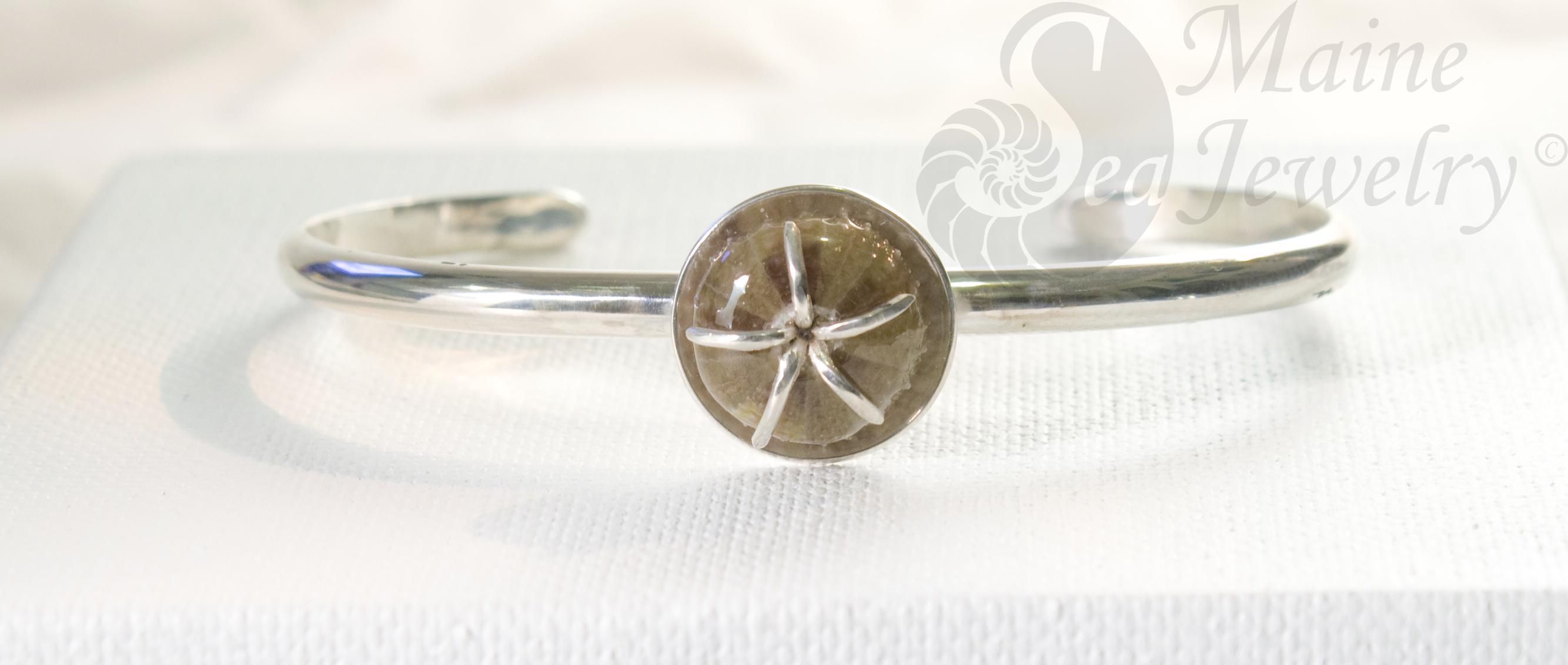 Sea Urchin Cuff Bracelet