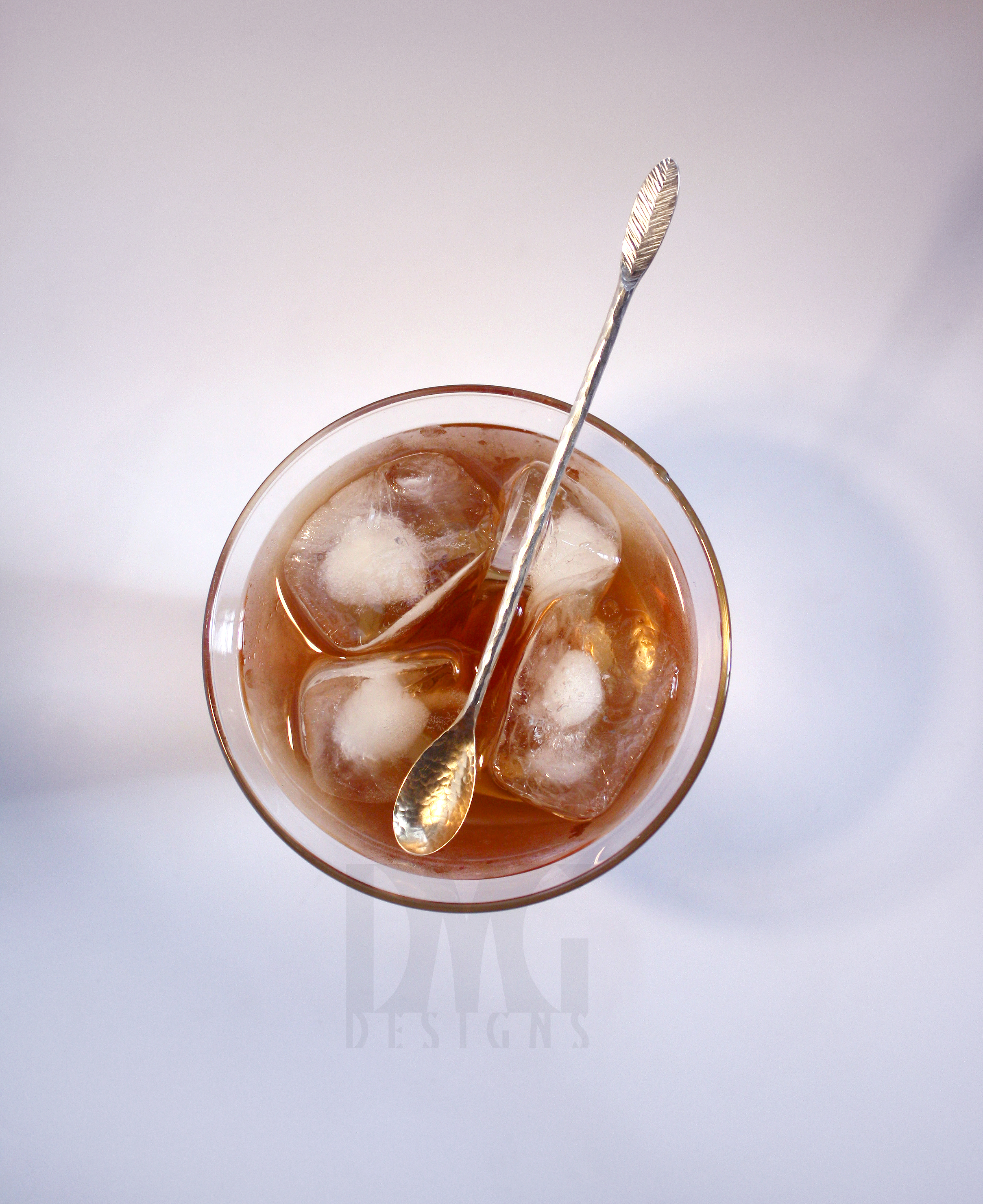 Cocktail Stirrer - SS in glass 2