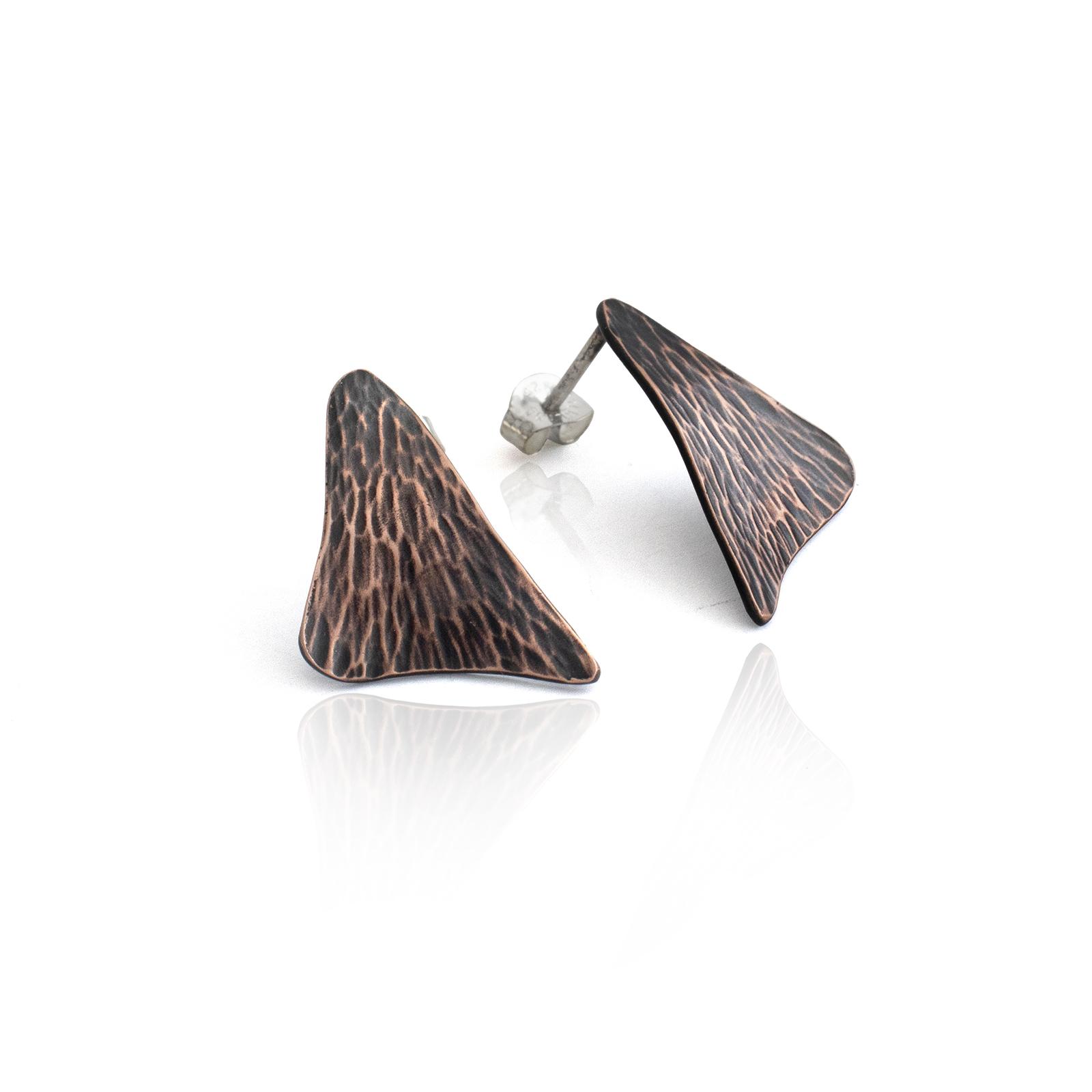 Sail Studs - Dark Copper