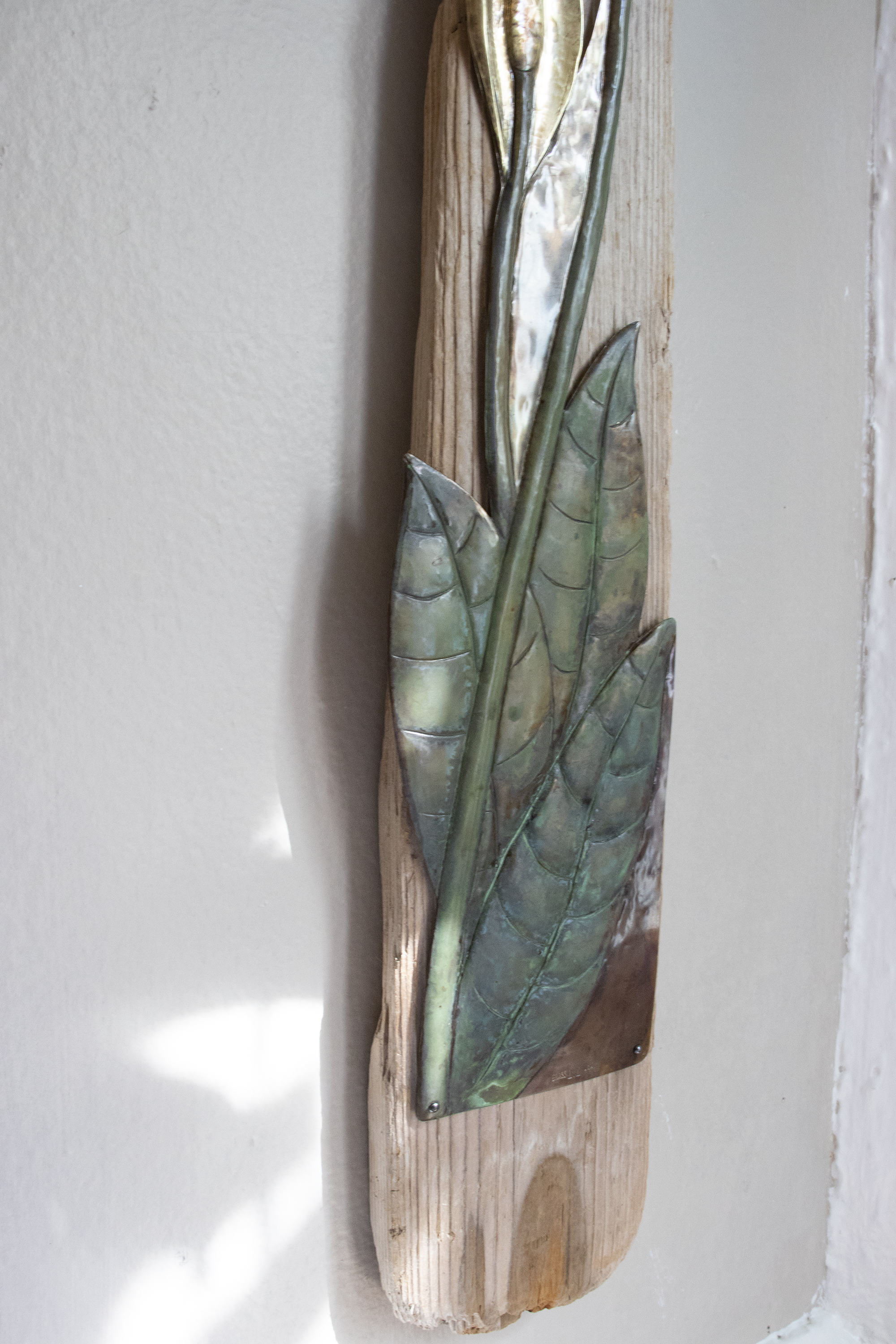 Peace Lily Wall Relief