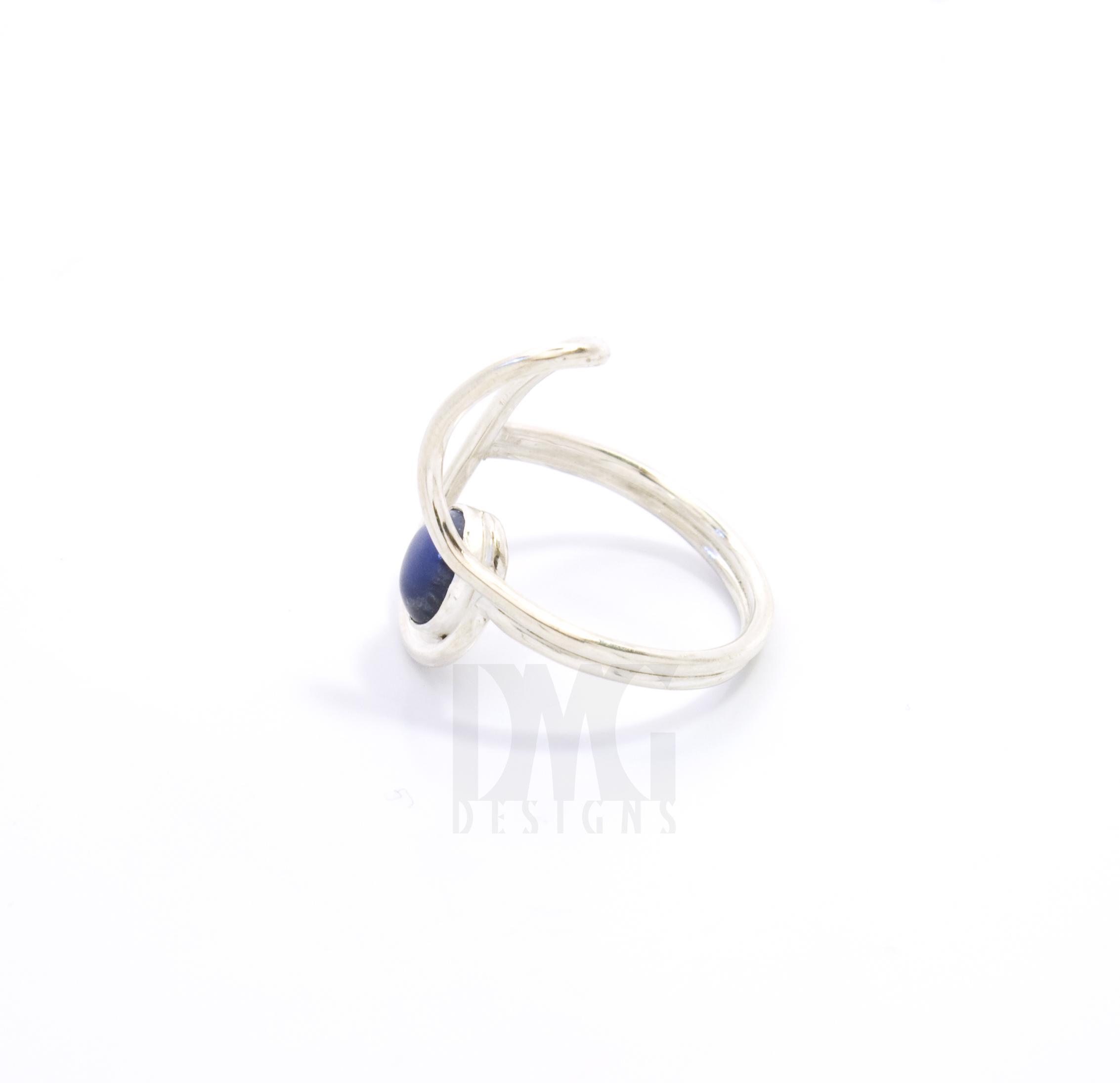 Sodalite Gesture Nautilus Ring
