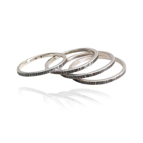 Stacking Hammered Rings