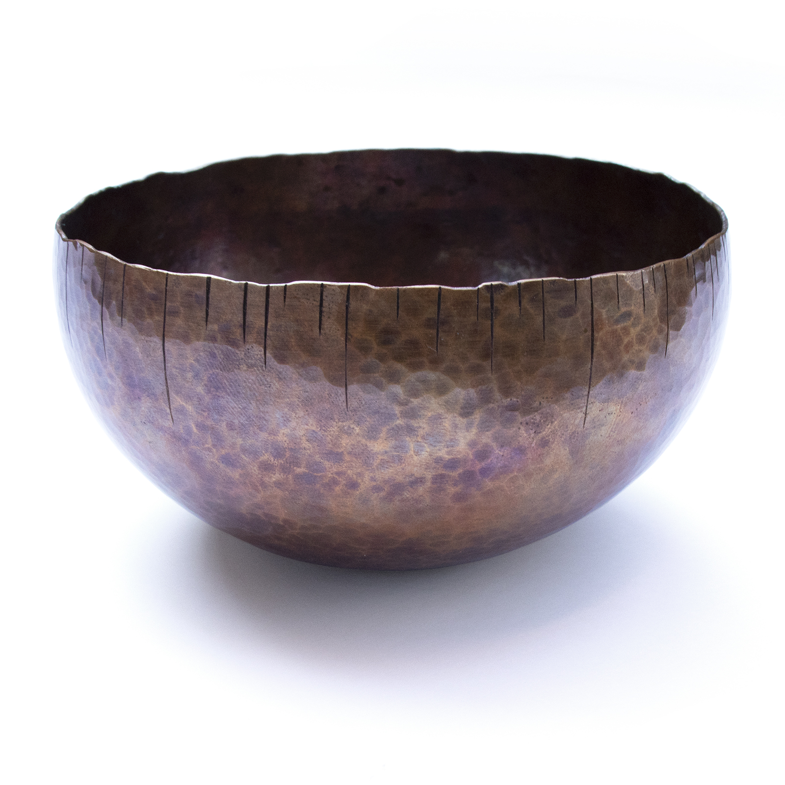 Copper Icicle Bowl