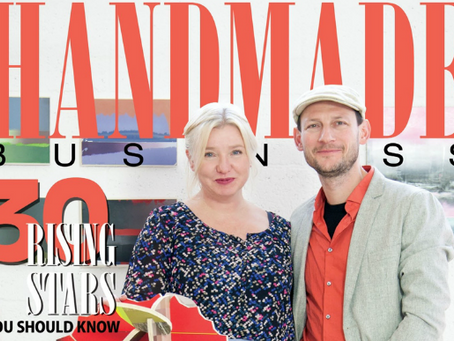 Featured in Handmade Business Magazine