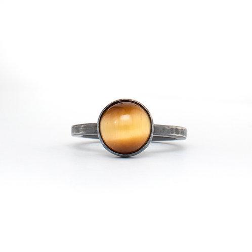 Honey Tigers Eye Ring