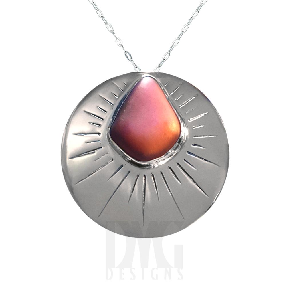 Custom Red Rock Pendant