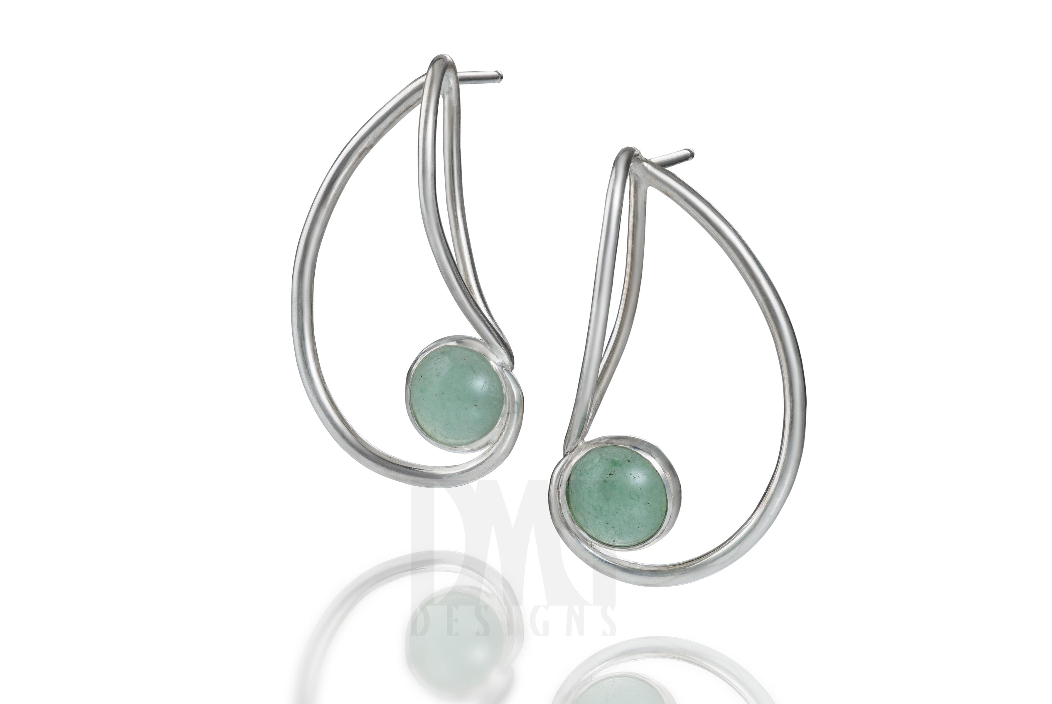Simple Nautilus Earrings