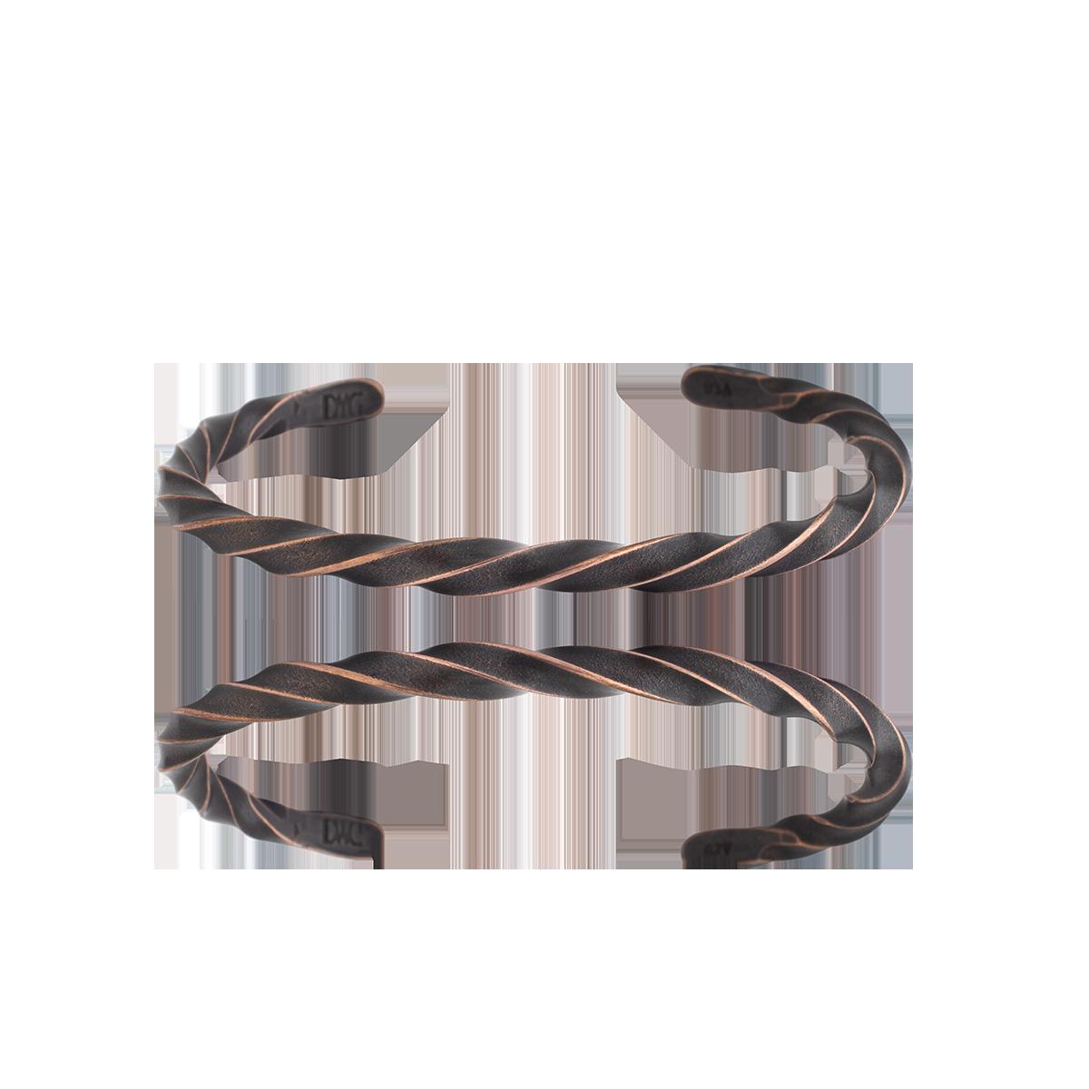 Twisted Cuff Copper